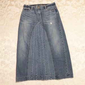 Special Edition Old Navy denim maxi skirt